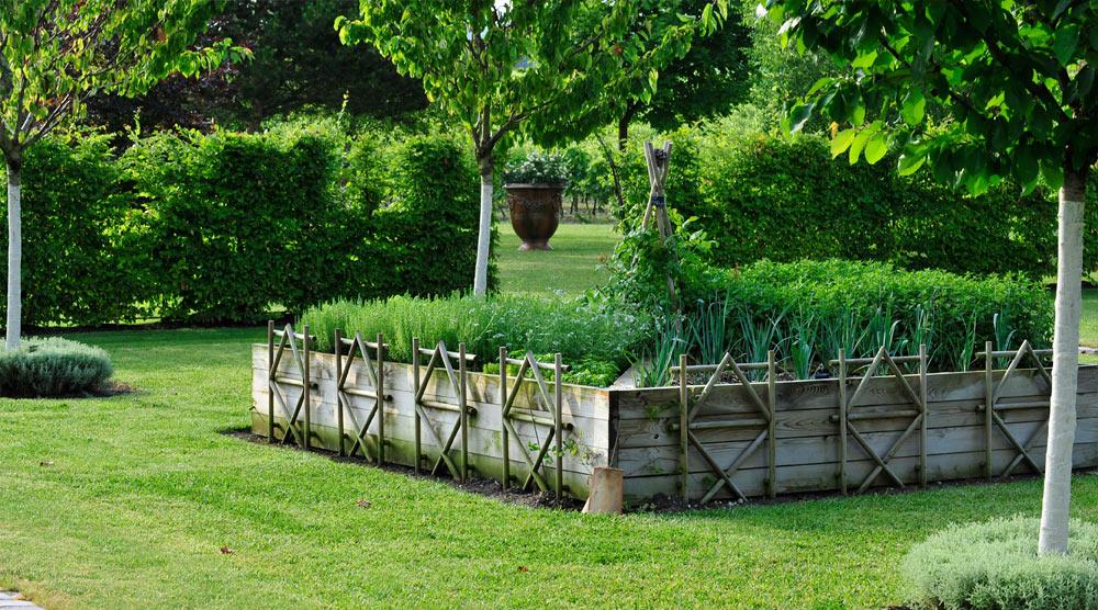 Verger potager les jardins du chaigne for Creation jardin potager