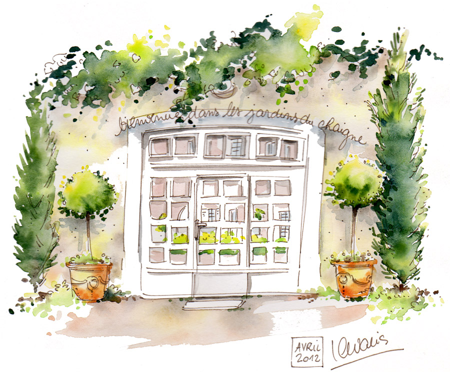 Actualit les jardins du chaigne for Jardin des vins 2015 horaires